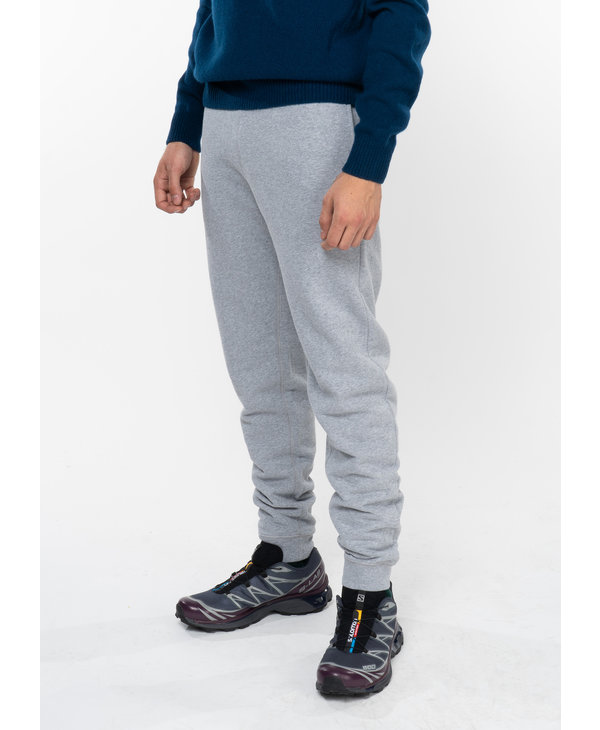 Pantalon Jogging Loopback en Coton Gris