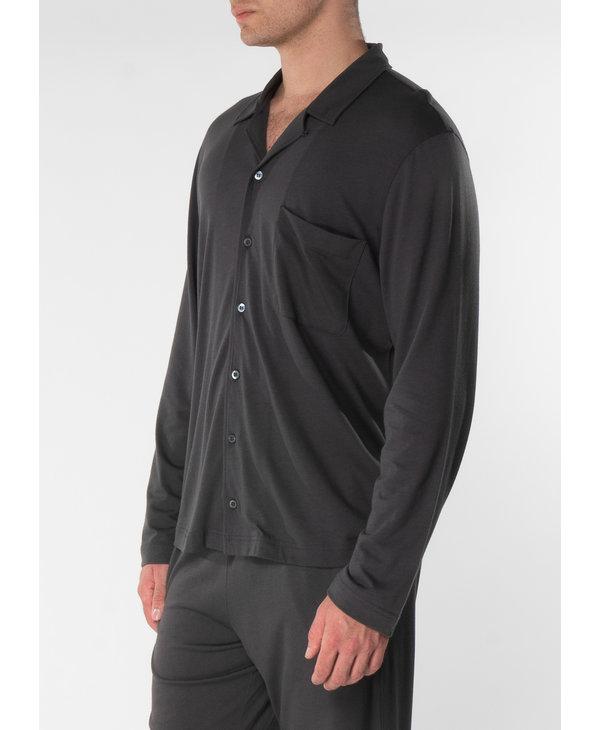 Charcoal Pyjama Shirt