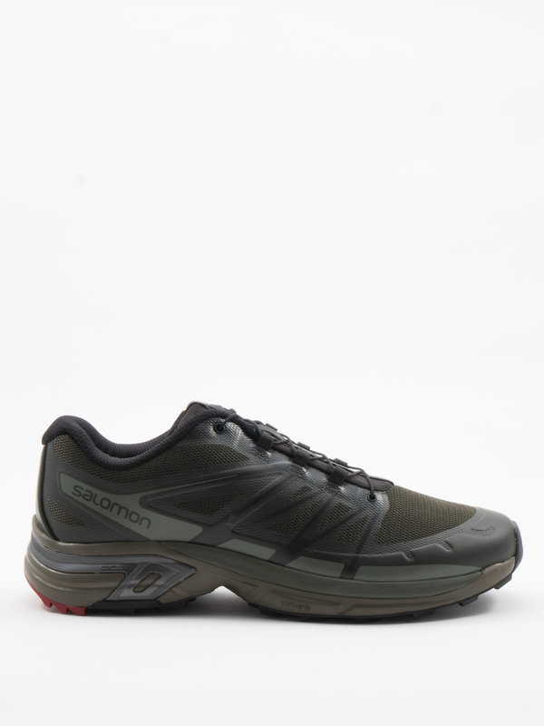 Salomon Advanced Olive Green XT-Wings 2 Advanced Sneakers
