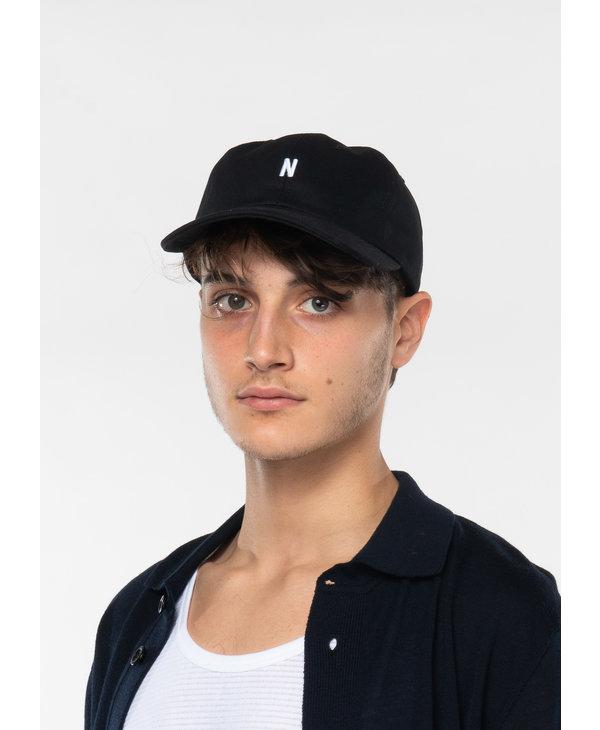 Black Twill Sports Hat