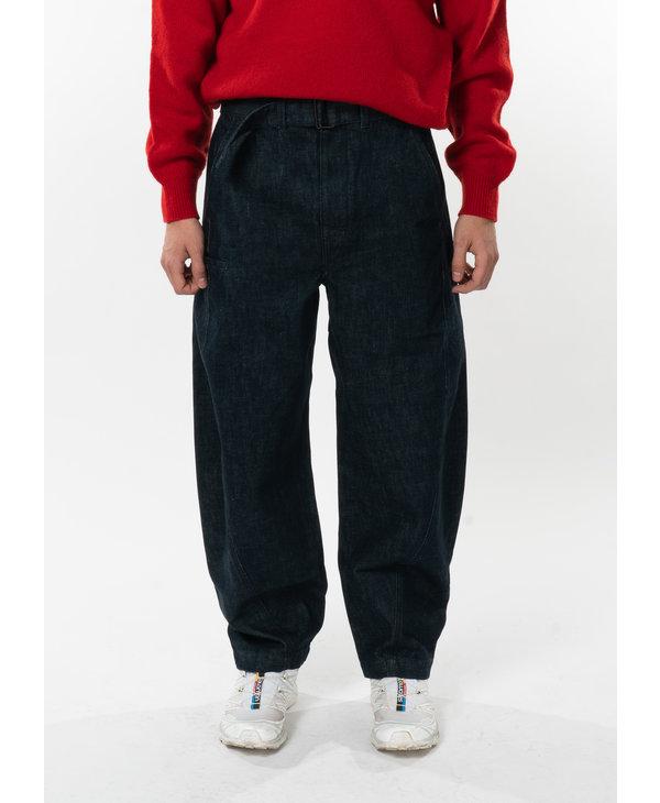 Denim Twisted Pants