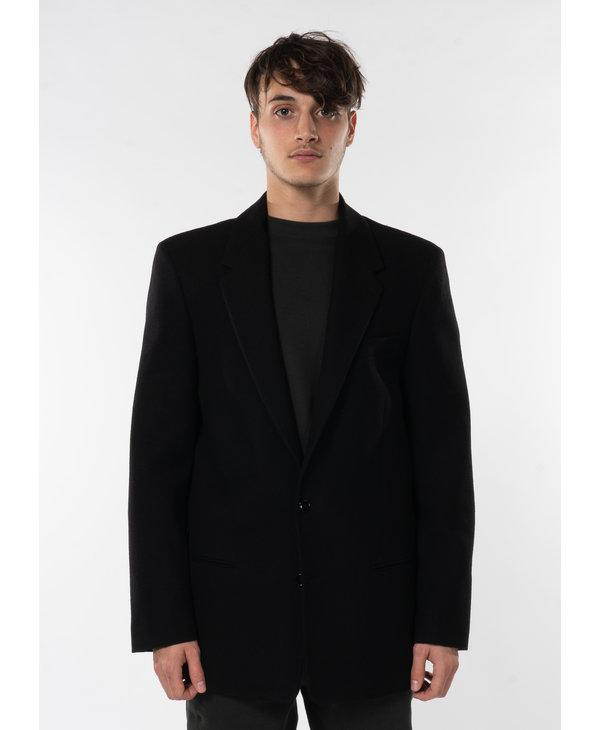 Veston Noir Surdimensionné