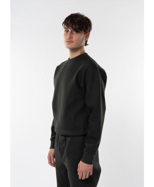 Forest Green Fleece Sweatshirt