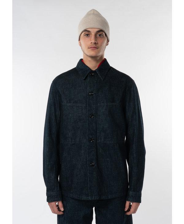 Indigo Denim Overshirt