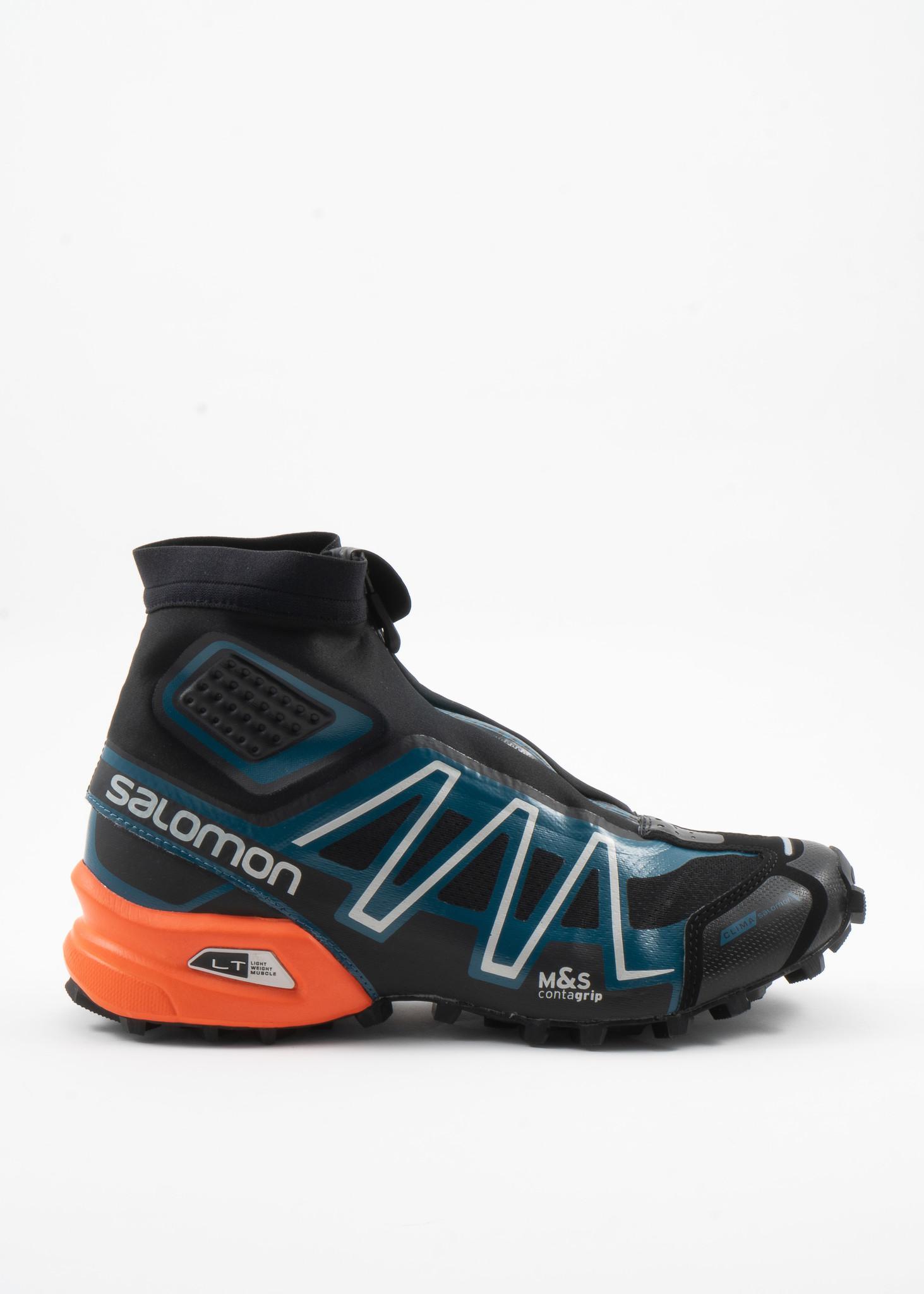Blue Snowcross Advanced Boots