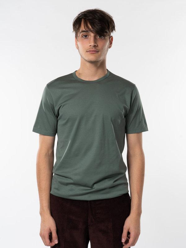 Sunspel Green Classic T-Shirt