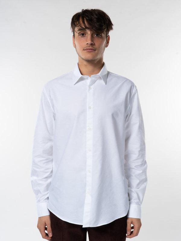 Sunspel White Oxford Shirt