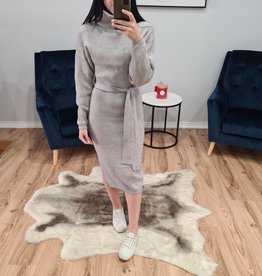 TINA HIGH NECK KNIT DRESS