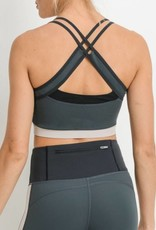 WORKS OUT WELL WITH OTHERS SPORTS BRA