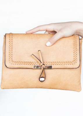 SAVANNAH VEGAN TOGGLE CLUTCH