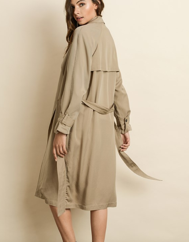 DF UPSTATE TRENCH COAT