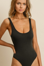 CHECK YOU OUT BASIC BODYSUIT