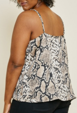 WALK ON THE WILDSIDE CAMI TOP