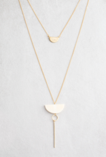 MOON MELODIES LAYERED NECKLACE