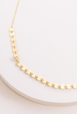SIMPLE CIRCLE DOTTED NECKLACE