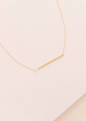 MODERN MINIMALIST BAR NECKLACE