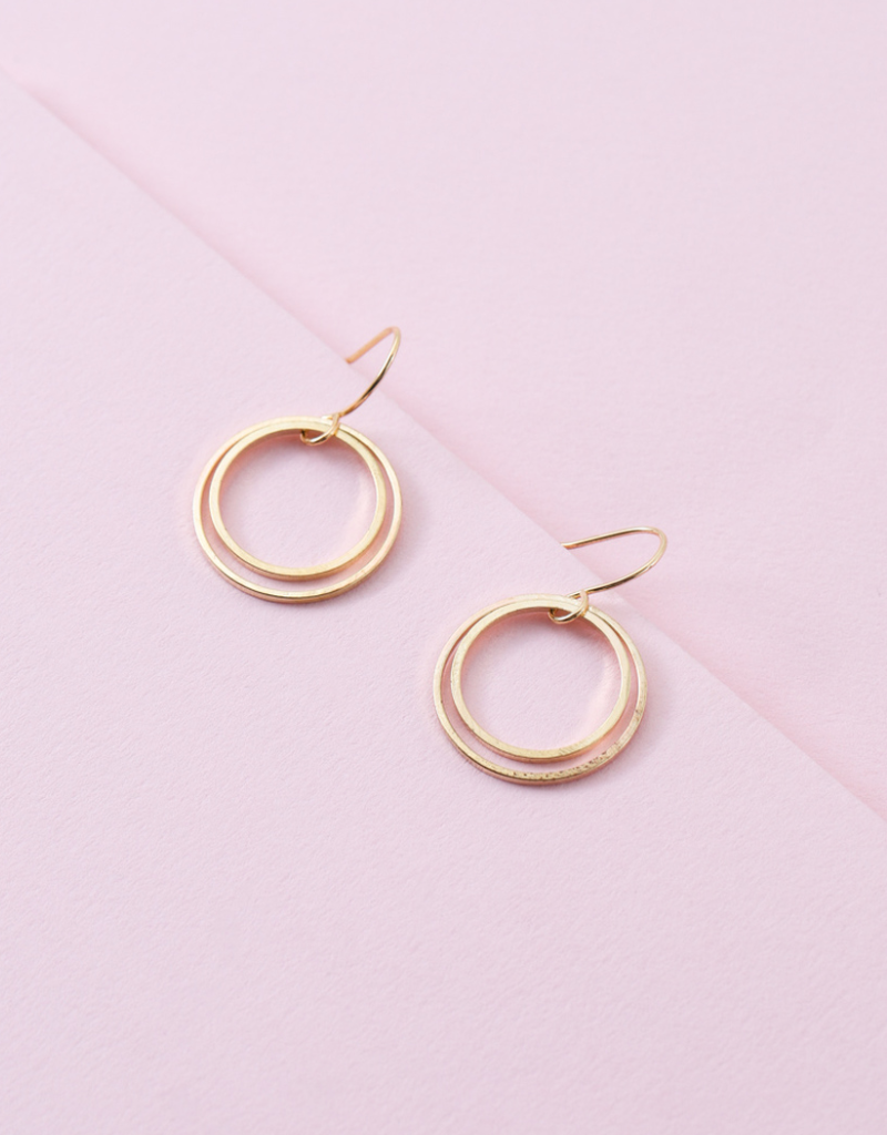EFFORTLESS CIRCLE EARRINGS