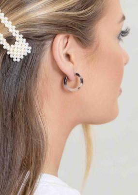 MOD MINI HOOP EARRINGS