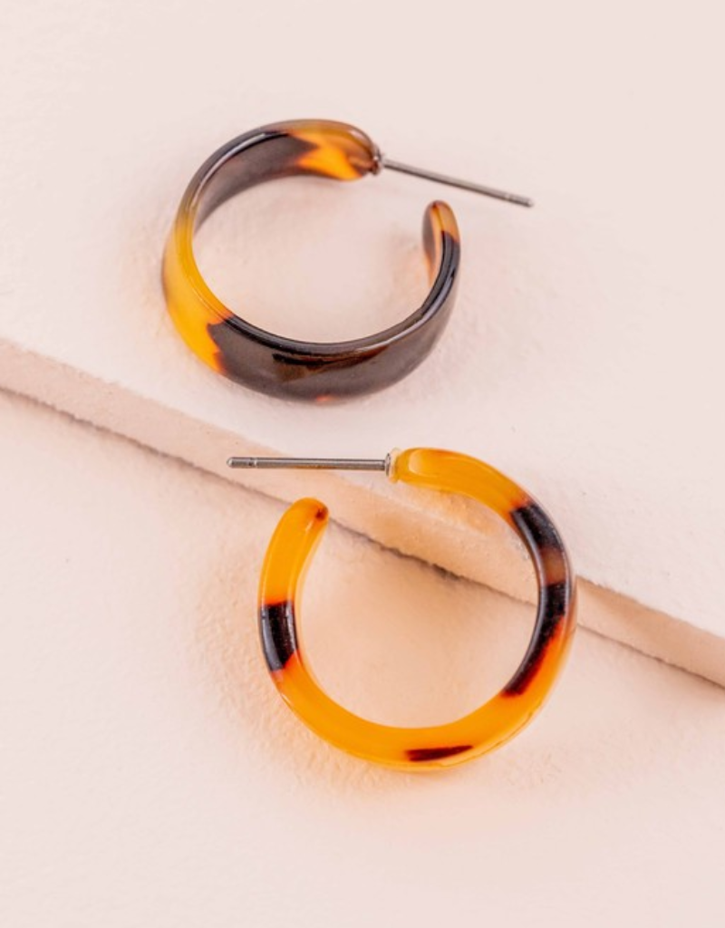 MOD MINI HOOP EARRINGS