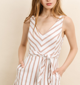 MOVE IN DIFFERENT DIRECTIONS ROMPER