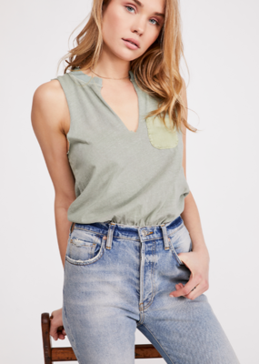 Free People FREE PEOPLE IN YOUR POCKET BODYSUIT