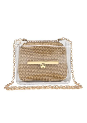 ASHER GAMEDAY CLEAR CROSSBODY