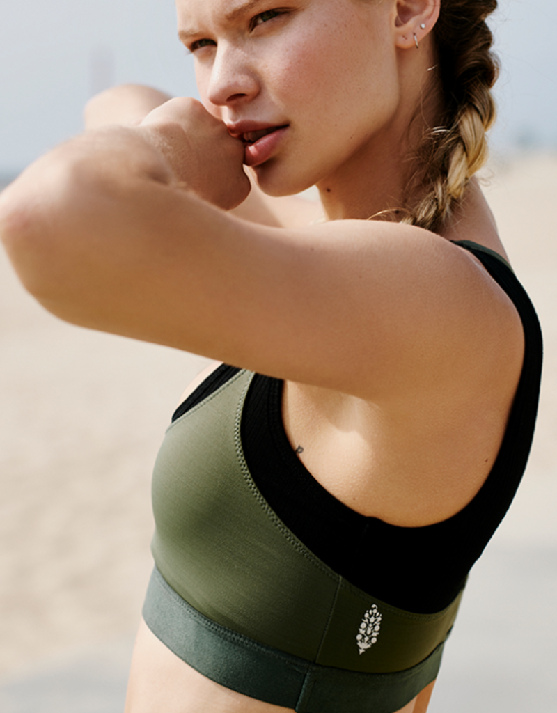 FREE PEOPLE TWO BECOME ONE SPORTS BRA