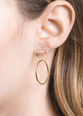HARMONIOUS DROP EARRINGS