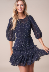 GO ALL OUT RUFFLE DRESS