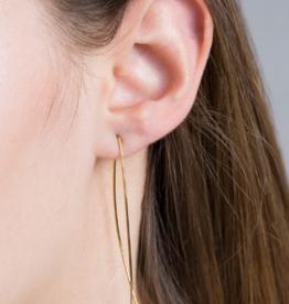 ARC THREADER EARRINGS