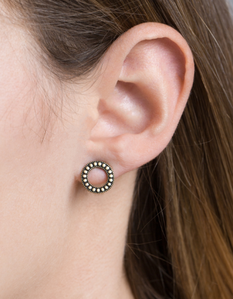 BURNISHED KARMA EARRINGS