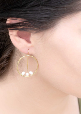 RIGHT ON TIME HOOK EARRINGS