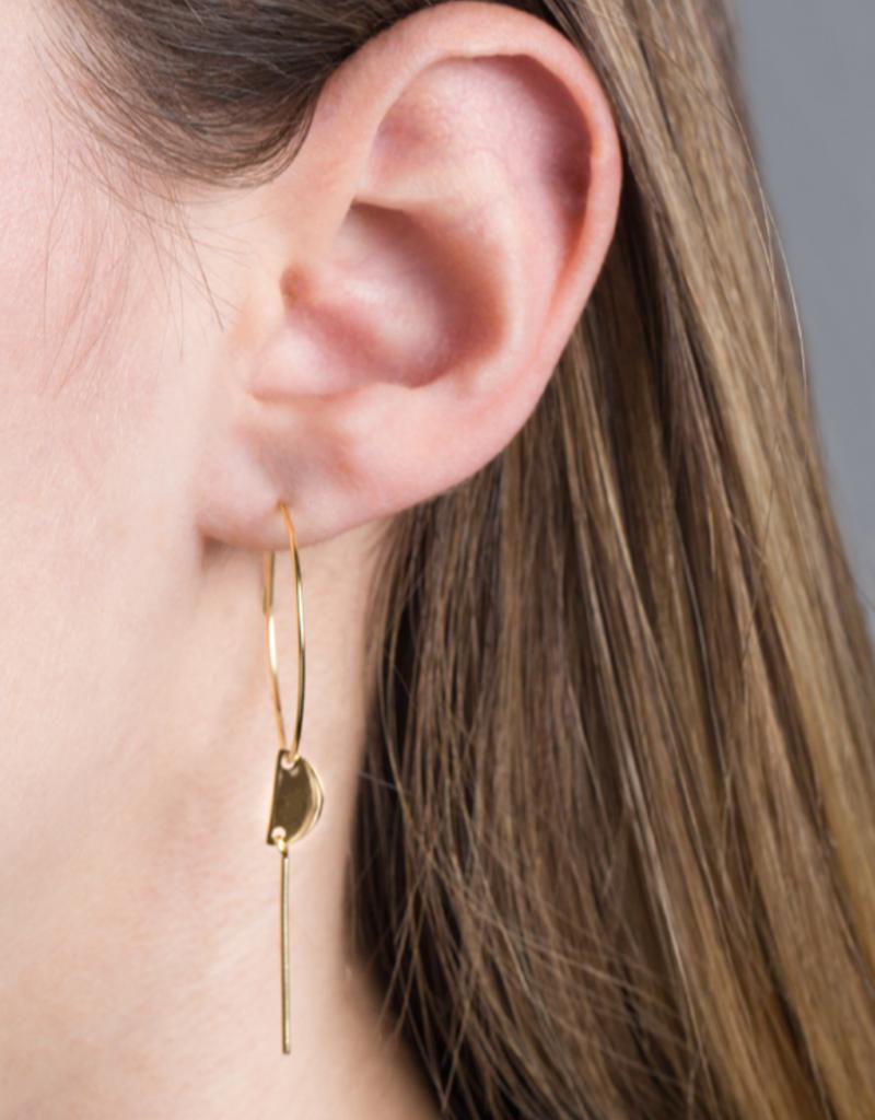 MINIMAL HOOP EARRINGS