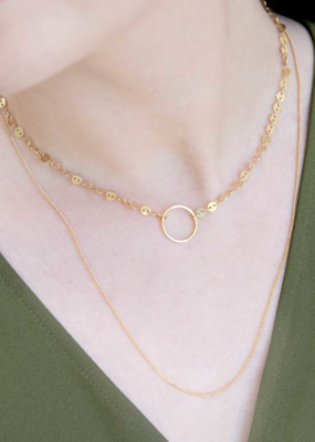 MIDORI CHOKER LAYERED NECKLACE-FINAL SALE ITEM