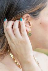 CIRCLE AHEAD DANGLE EARRINGS