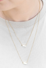 STRIKE A POSE BAR NECKLACE