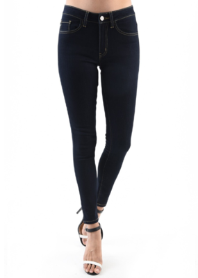 MID RISE SUPER SKINNY DENIM