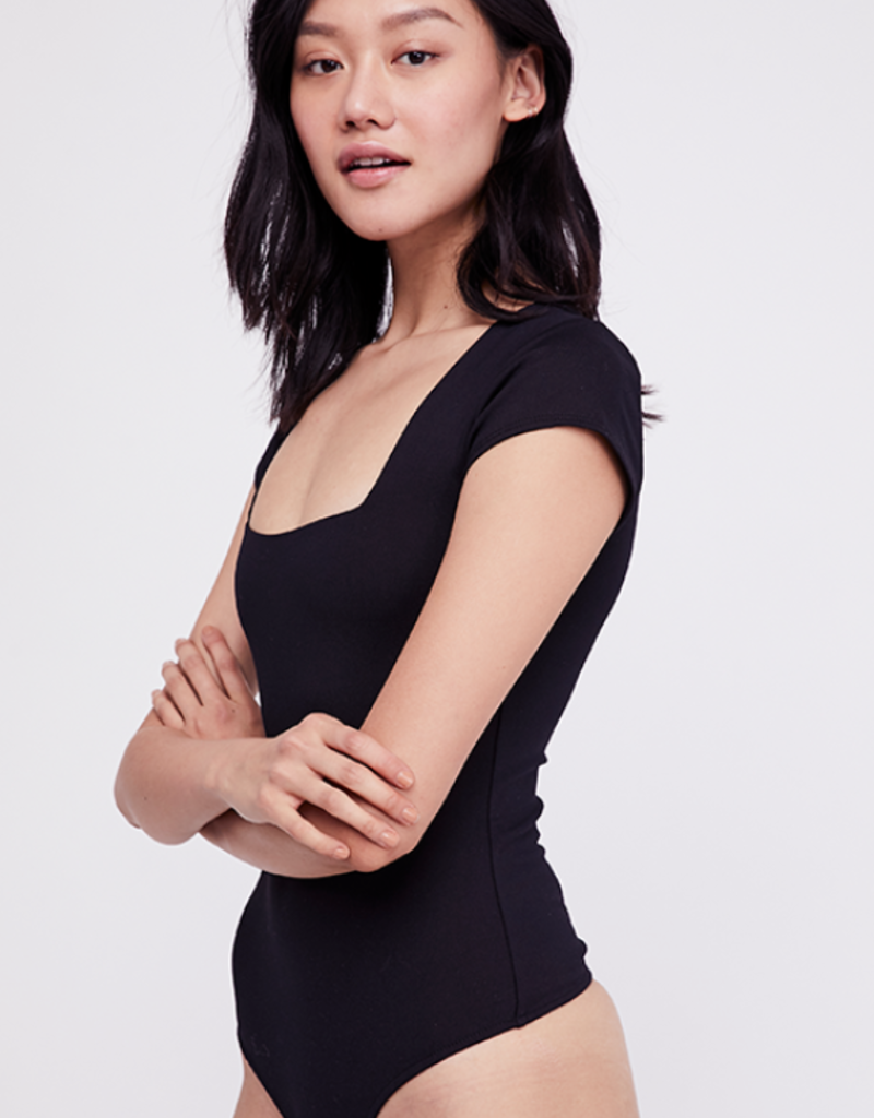 FREE PEOPLE SQUARE EYES BODYSUIT