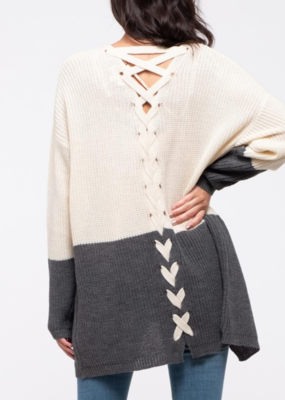 TIED TO YOU SWEATER CARDIGAN