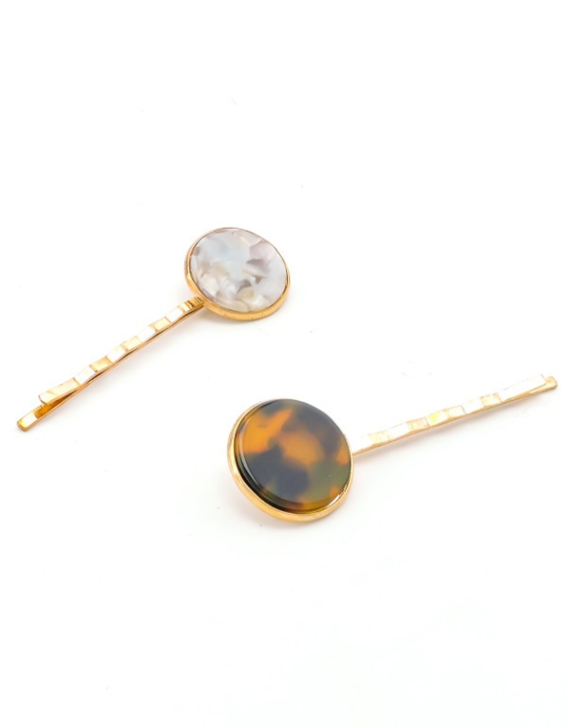 JUNIPER TIGER'S EYE HAIR PIN