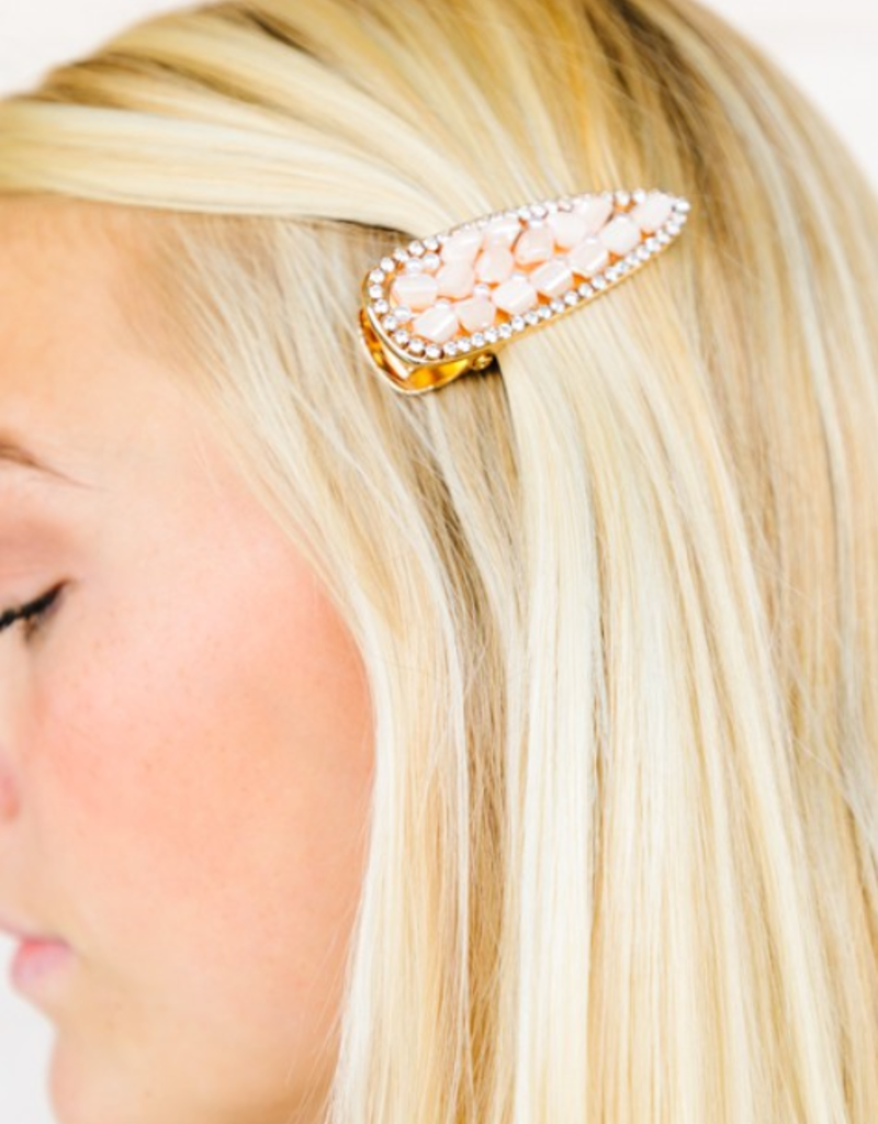 KENSINGTON GEMSTONE HAIR CLIP