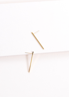 BOSS STATUS BAR EARRINGS-FINAL SALE ITEM