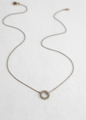BURNISHED KARMA NECKLACE-FINAL SALE ITEM