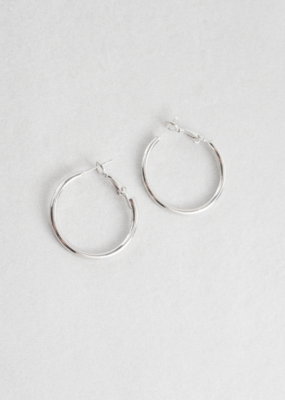 CLASSIC HOOP EARRINGS-FINAL SALE ITEM