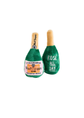 WOOF CLICQUOT ROSE PLUSH DOG TOY