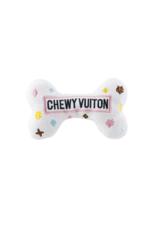 CHEWY VUITON BONE PLUSH DOG TOY