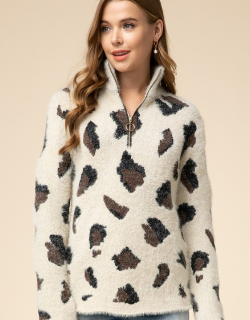 CHANGE YOUR SPOTS SWEATER