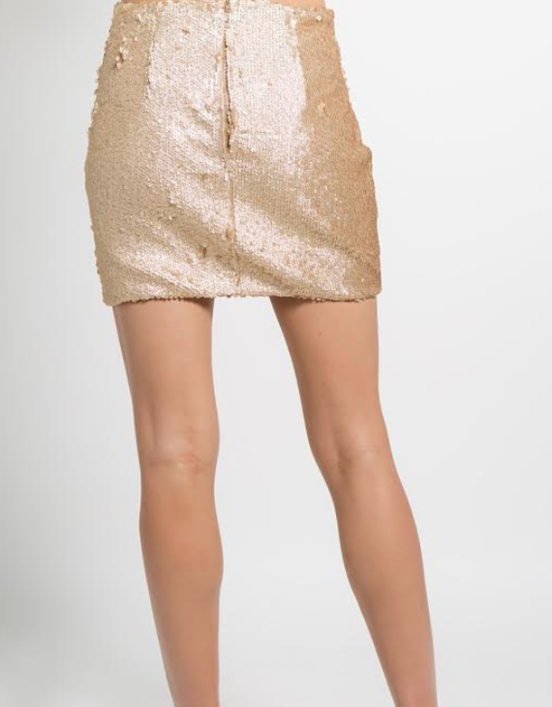 SEEING IS BELIEVING MINI SKIRT