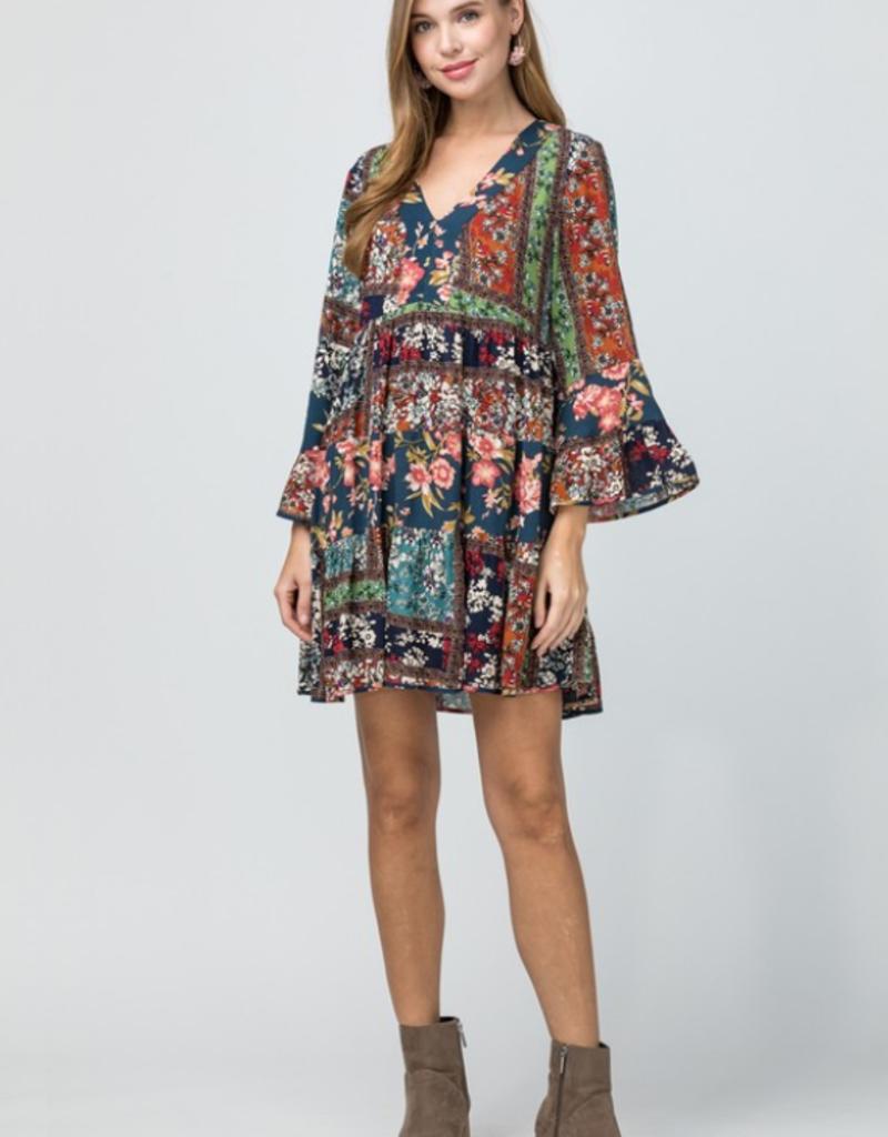 MERRY-GO-ROUND DRESS