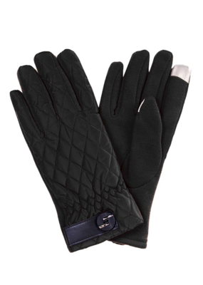 QUILTED SMART TIP GLOVES